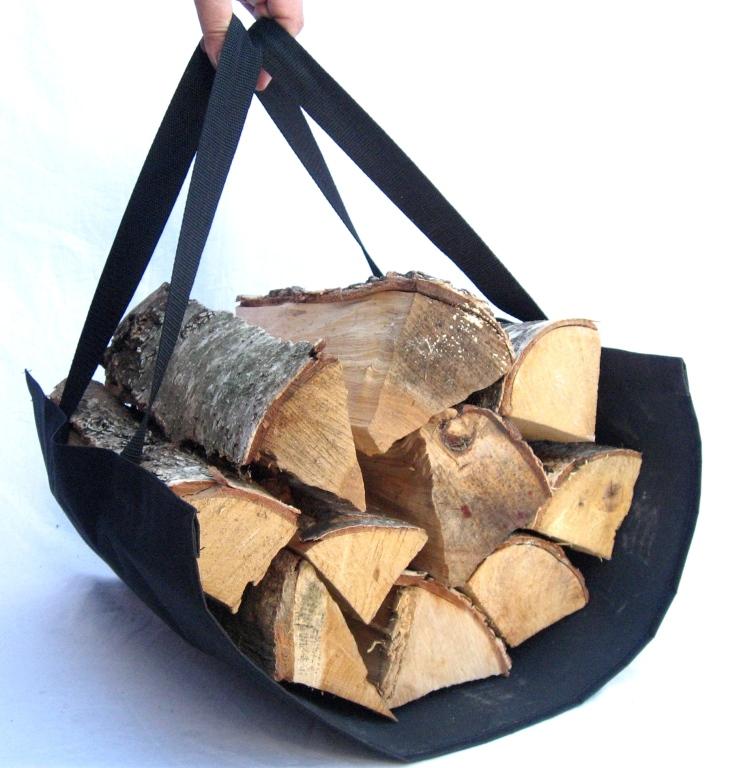 Как сделать приспособление для переноски дров6
